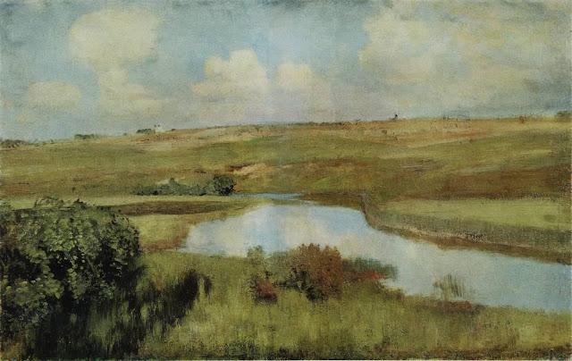 Исаак Ильич Левитан - Река. 1898-1899