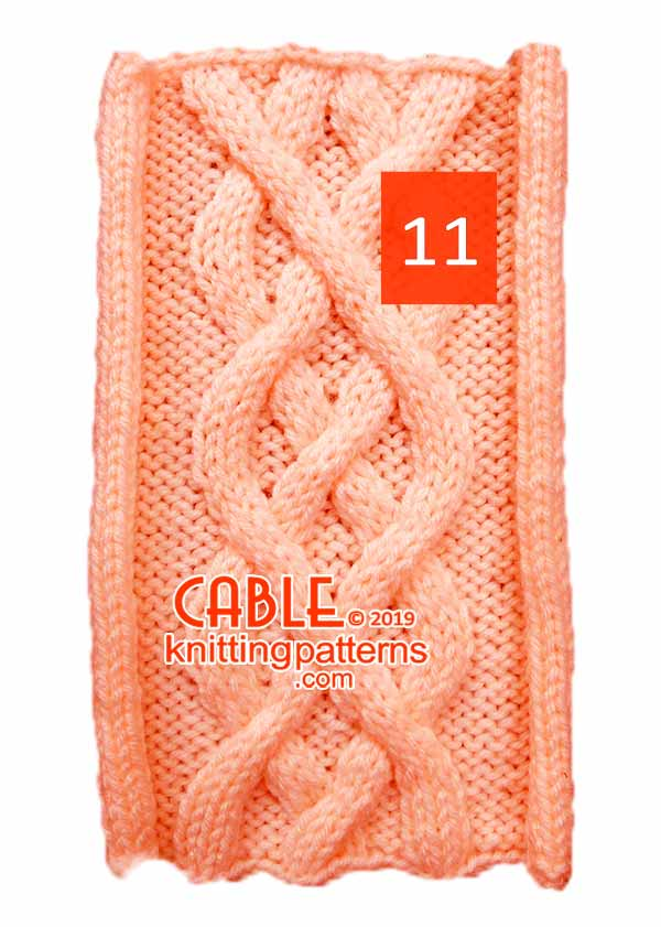 Cable Knitting Pattern 11