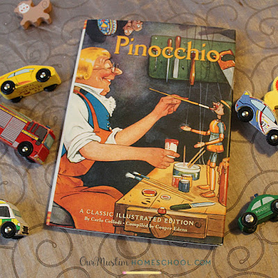 Muslim Homeschool Pinocchio read aloud