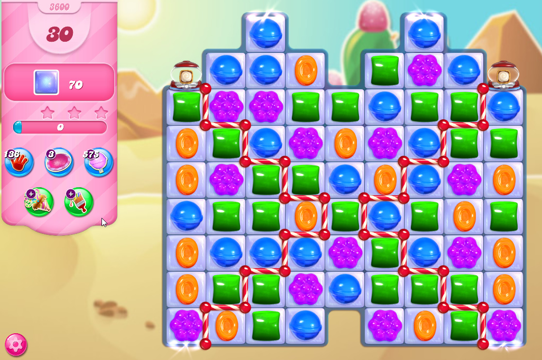 Candy Crush Saga level 3600