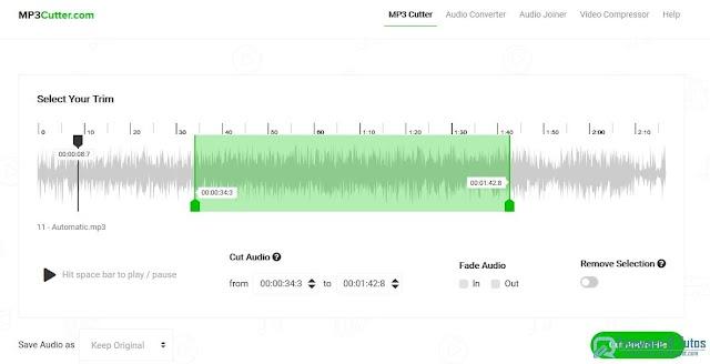 Mp3 Cutter :  un outil web 3-en-1 pour couper, convertir et joindre les fichiers audio