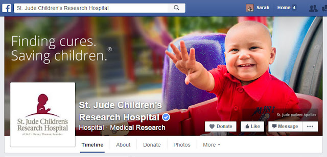 St. Jude Facebook Cover Photo