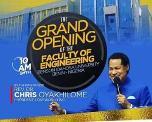 Dr Chris Oyakhilome