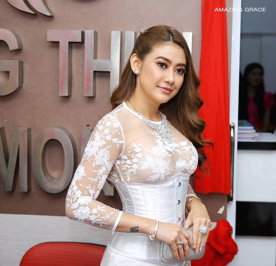 myanmarmodel-Thinzar Wint Kyaw Fashion Outfit of The Week