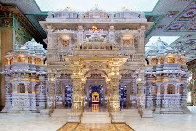 BAPS Swaminarayan Mandir NewJersey