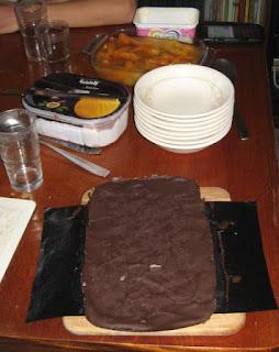 tiffin (chocolate biscuit cake)