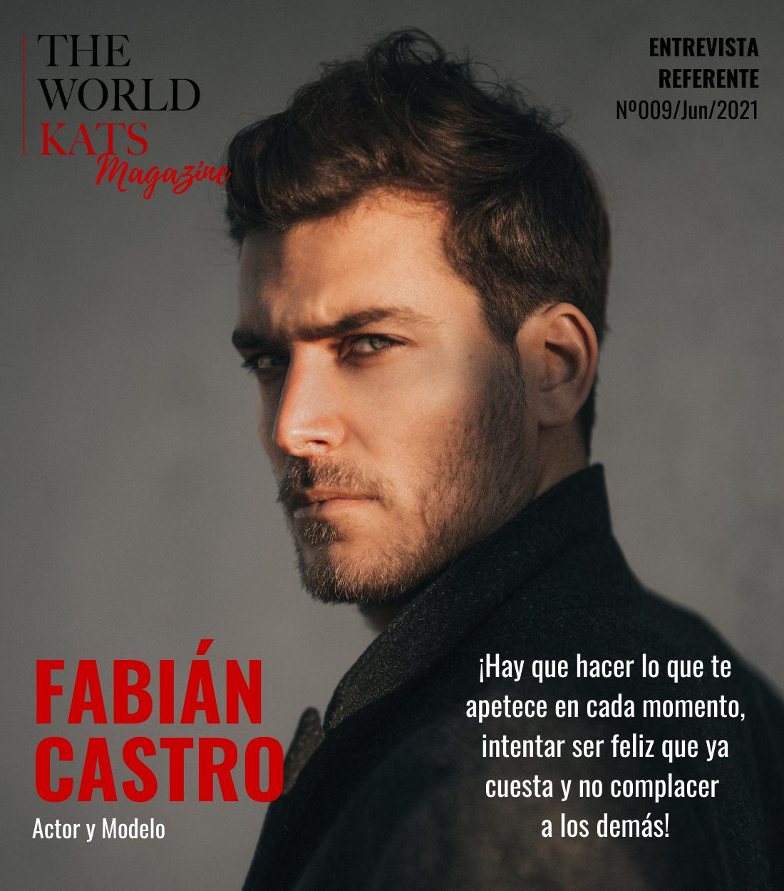 Entrevista a Fabián Castro, Actor y Modelo Publicitario
