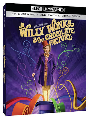 Willy Wonka & The Chocolate Factory on 4K Ultra HD