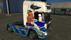 Eve Art Scania Streamline skin mod