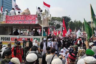 """Buntut RUU HIP, PA 212 Kumpulkan Jawara dan Laskar Gelar Apel Siaga """"Ganyang Komunis"""""""