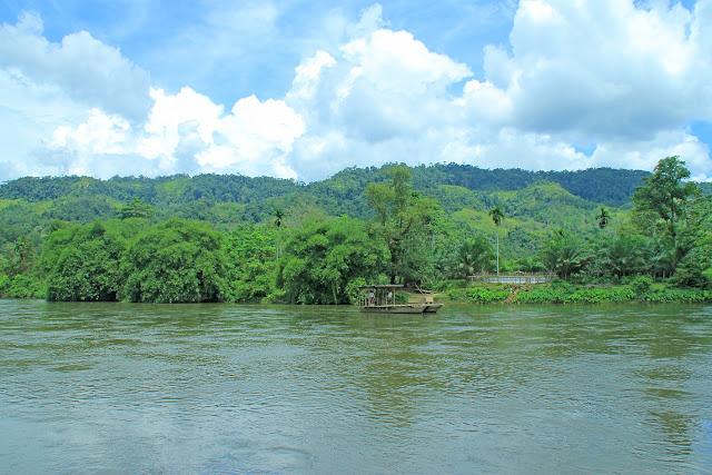 Sungai Kapur yang juga masyarakat setempat menyebutnya Batang Kopu adalah sungai yang menghubungkan desa Tanjung Muara Takus kecamtan XIII Koto Kampar dengan kecamatan Kapur IX Payakumbuh Sumatera Barat. Di desa Tanjung terdapat beberapa potensi objek wisata diantaranya adalah Muara Kapur dan air terjun Panisan.
