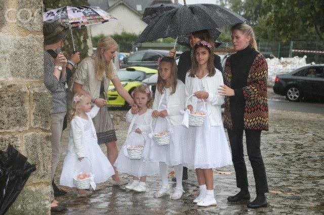 Red Carpet Wedding Sandrine Roussel