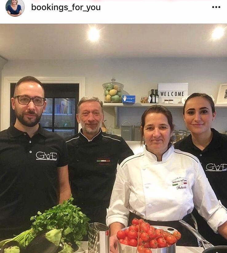The Giovannini Family from Volterra Tuscany Italy