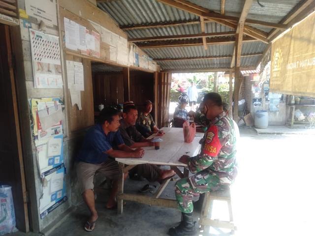 Himbau Warga Binaan Agar Patuhi Protokol Kesehatan Dilakukan Personel Jajaran kodim 0207/Simalungun