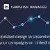 LinkedIn ajoute 3 options de campagnes à Campaign Manager
