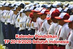 Kalender Pendidikan TP 2019/2020 Seluruh Indonesia