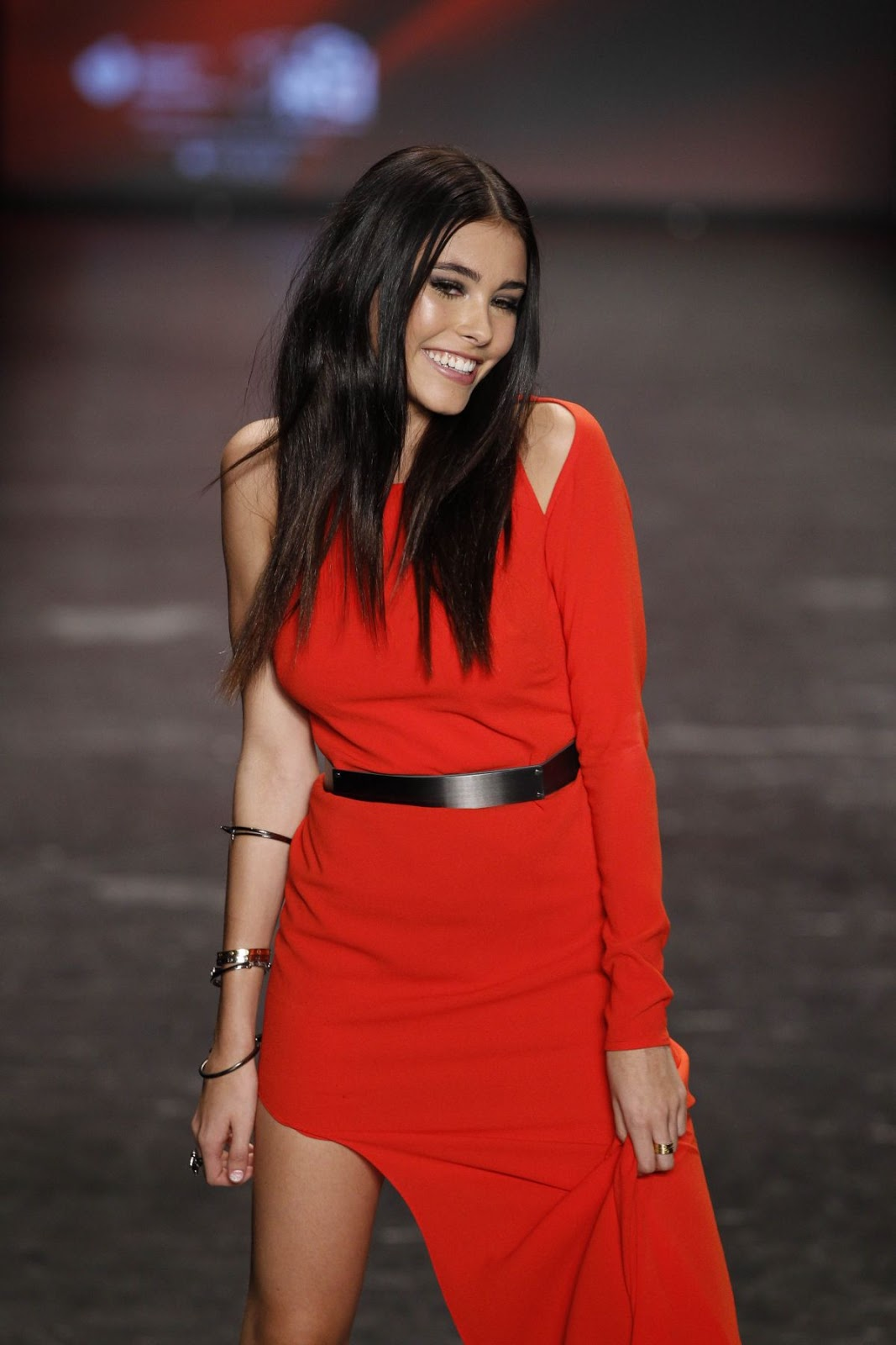 HD Photos of Madison Beer at Go Red for Women Red Dress Collection 2016