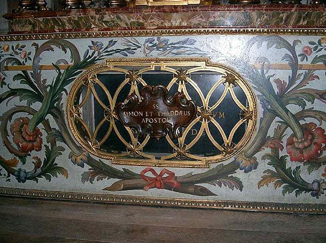 Santos Simão e Judas Tadeu, sepulcro na Basilica de São Pedro, Vaticano