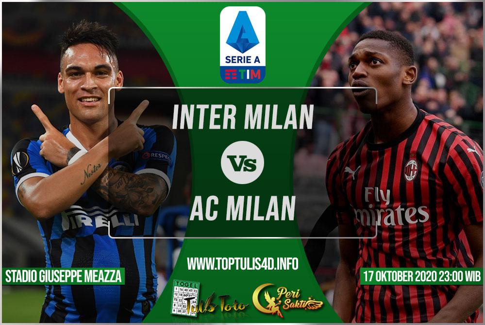 Prediksi Inter Milan vs AC Milan 17 Oktober 2020