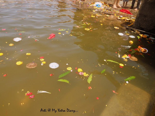 Callousness of people at Godavari River Ghat, Nashik