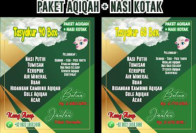 Paket Aqiqah + Nasi Kotak