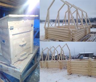 Дома из бруса ,Ульи для пчёл