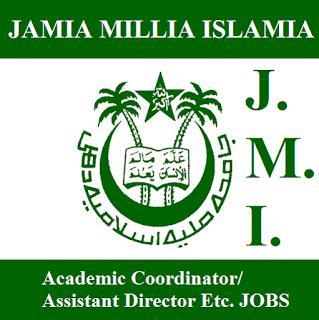 Jamia Millia Islamia, JMI, New Delhi, Delhi, Director, freejobalert, Sarkari Naukri, Latest Jobs, Graduation, jmi logo