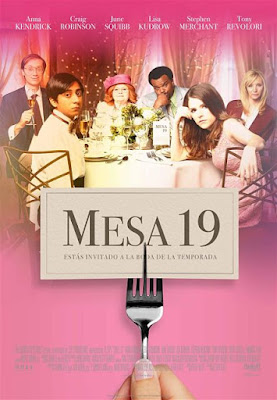 Cartel oficial español: Mesa 19 (2016)