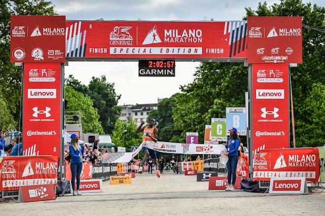 Milano marathon titus ekiru