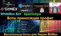 LiquidBot, Hamster-Bot и WhiteBox бот - бесплатные профитные боты для биржи BitMEX