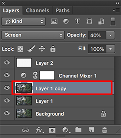 cara membuat efek inframerah di photoshop