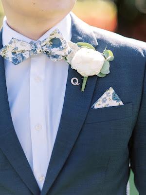 groom flower bow tie