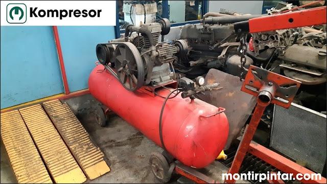 macam-macam power tools : kompresor