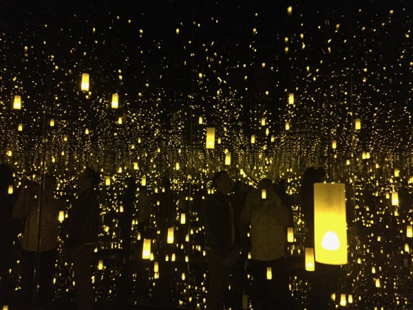 Yayoi Kusama Infinity Mirrors Broad