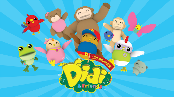 DVD DIDI & FRIENDS MURAH