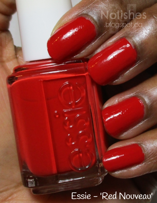 classic red nails, Essie 'Red Nouveau'