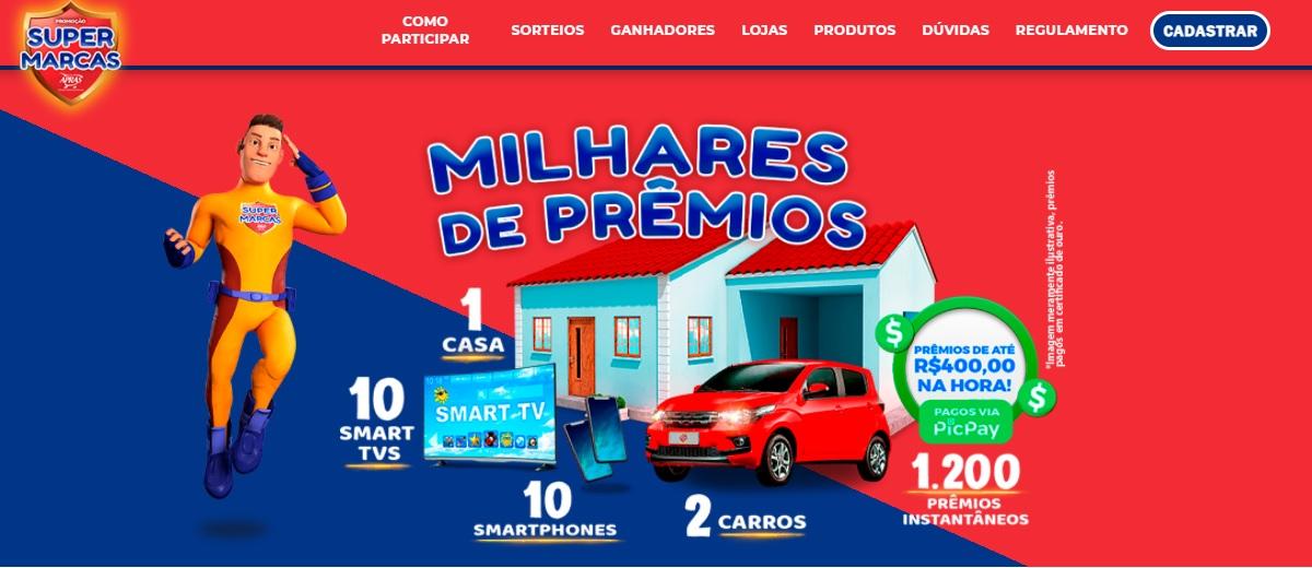Promoção APRAS 2021 Super Marcas Milhares Prêmios