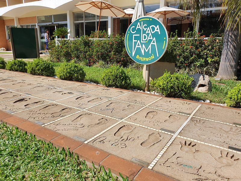 Calçada da Fama Bourbon Cataratas Resort Foz do Iguaçu