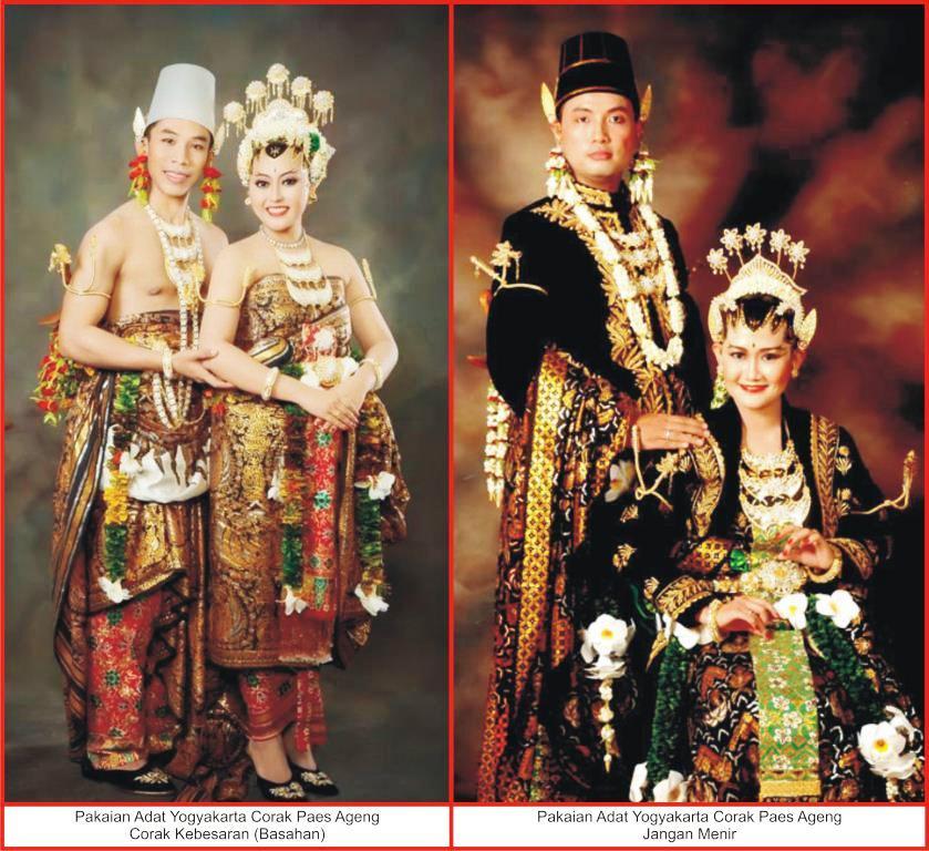 Pakaian Adat DI Yogyakarta Lengkap, Gambar Dan