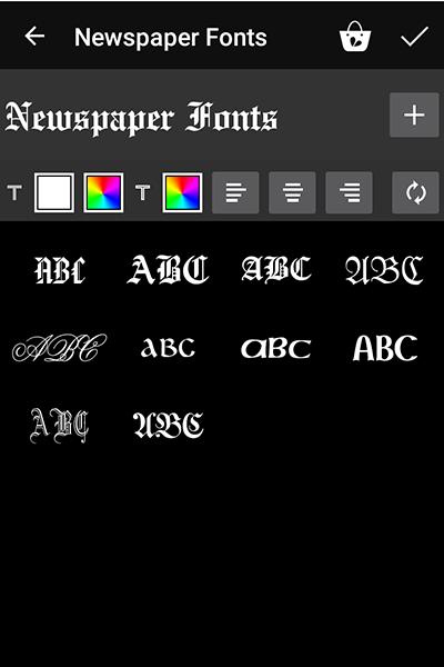 Download PicsArt Paid Fonts For Free - 2 | Ξffɘcts Fʌŋtʌsy