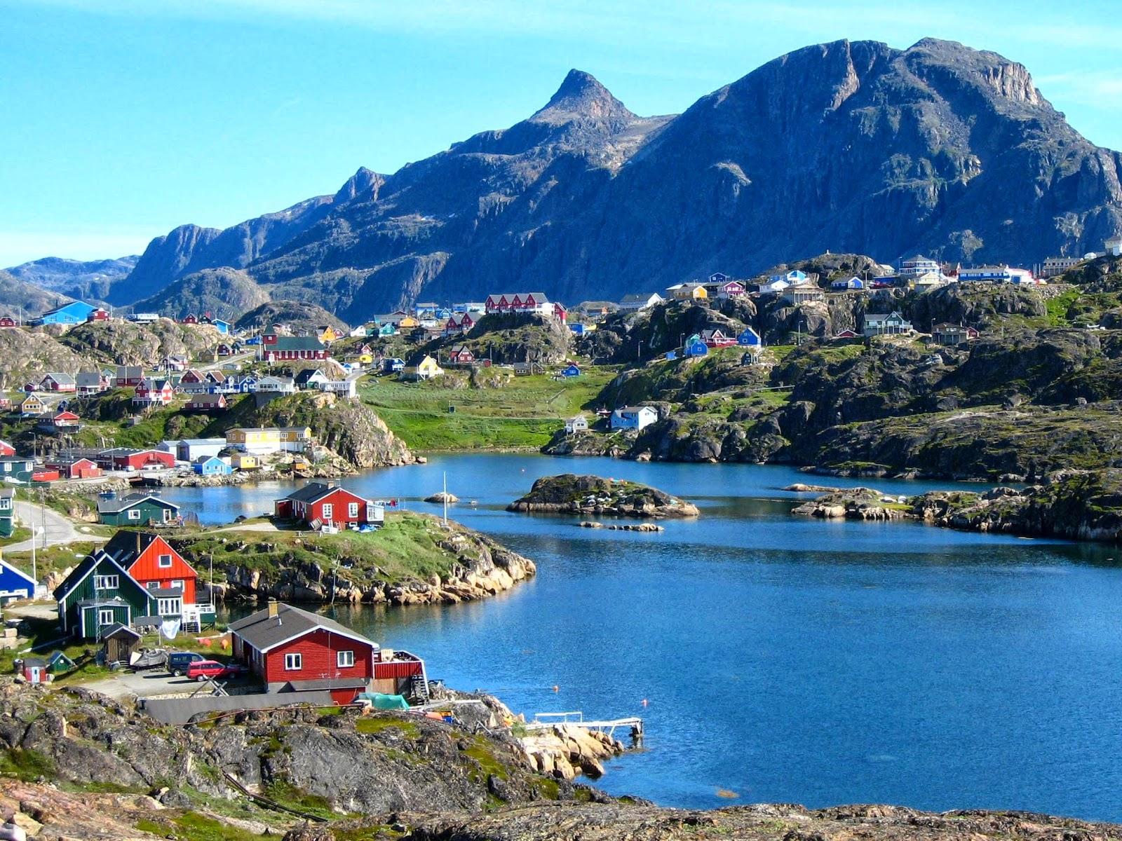 Small Bath Nuuk Greenland Travel Guide Exotic Travel Destination