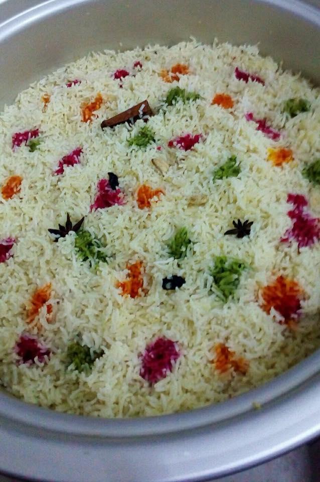 resepi nasi hujan panas