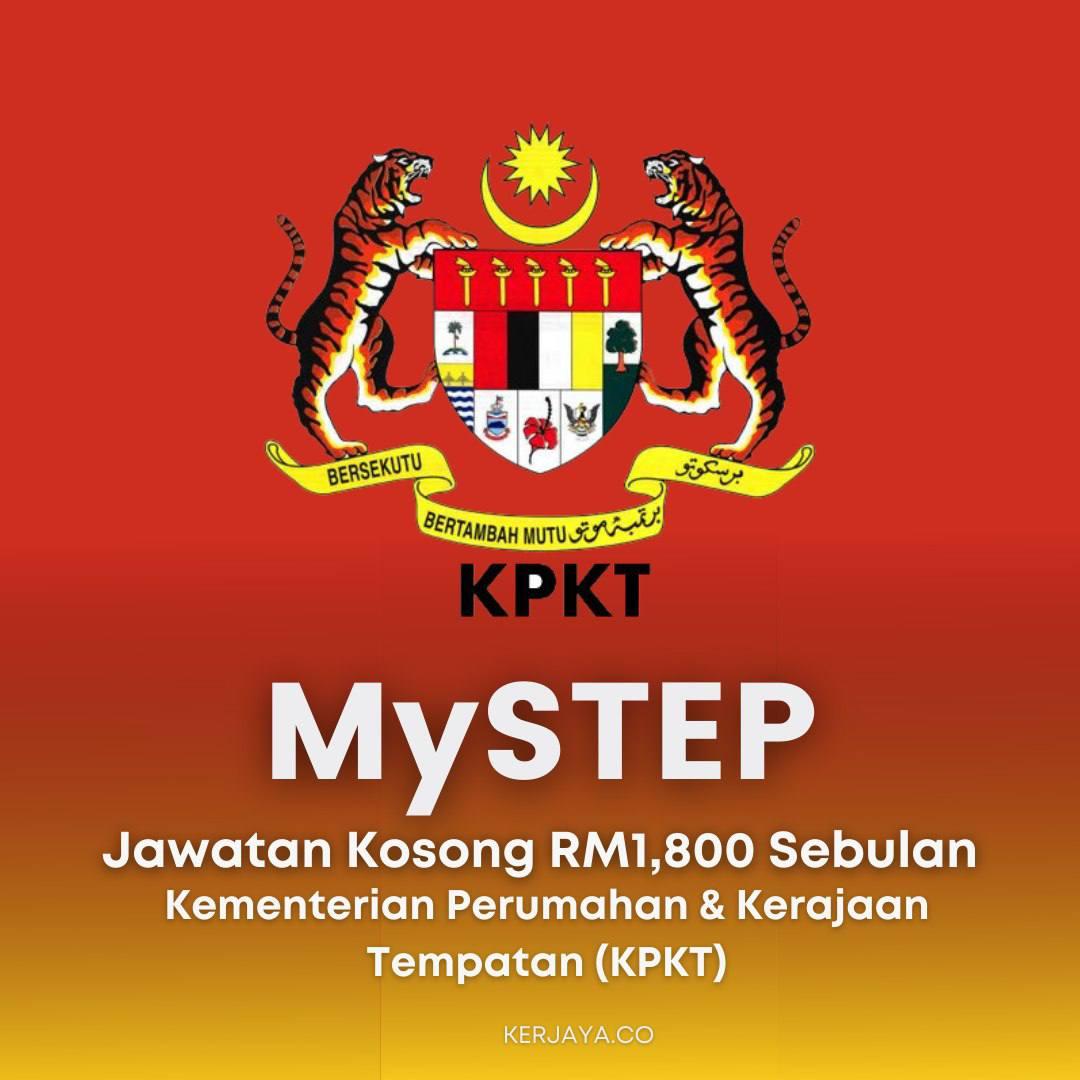 Iklan Jawatan Kosong Kementerian Perumahan & Kerajaan Tempatan (KPKT)