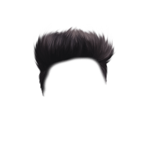 Black CB Hairstyle PNG For Picsart Free Stock [ Download Now ]