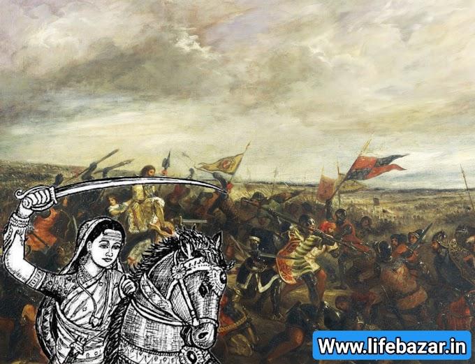 झांसी की रानी का इतिहास (हिंदी में)। jhansi rani lakshmi bai history