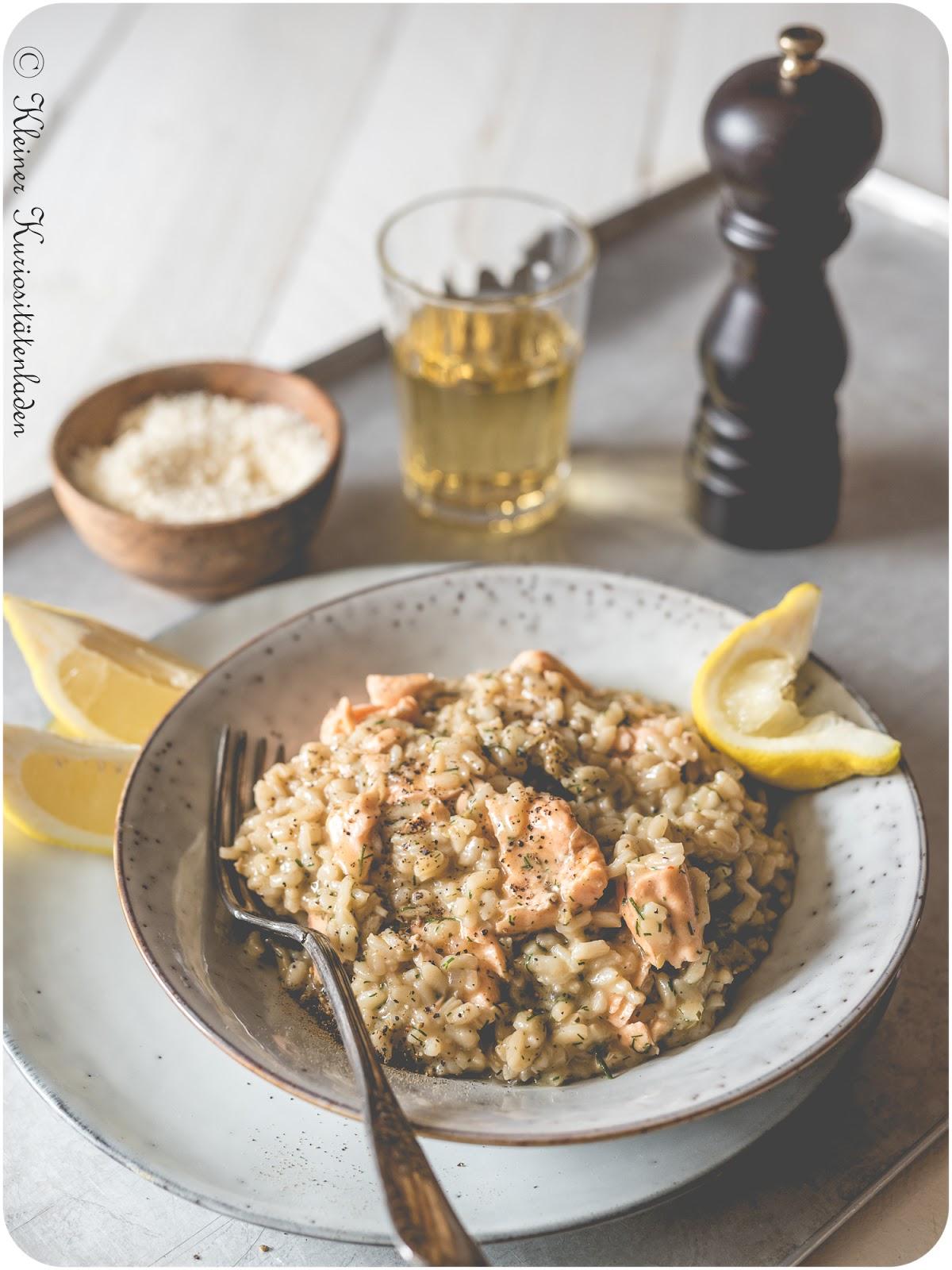 Risotto mit Lachs aus dem Schnellkochtopf