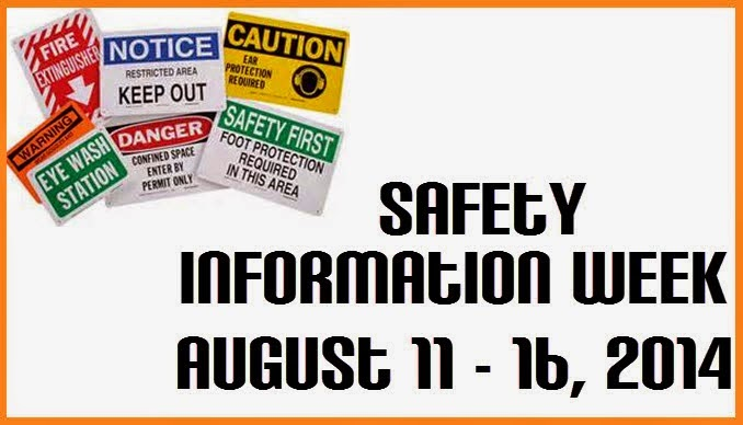 Safety Information Week 2014