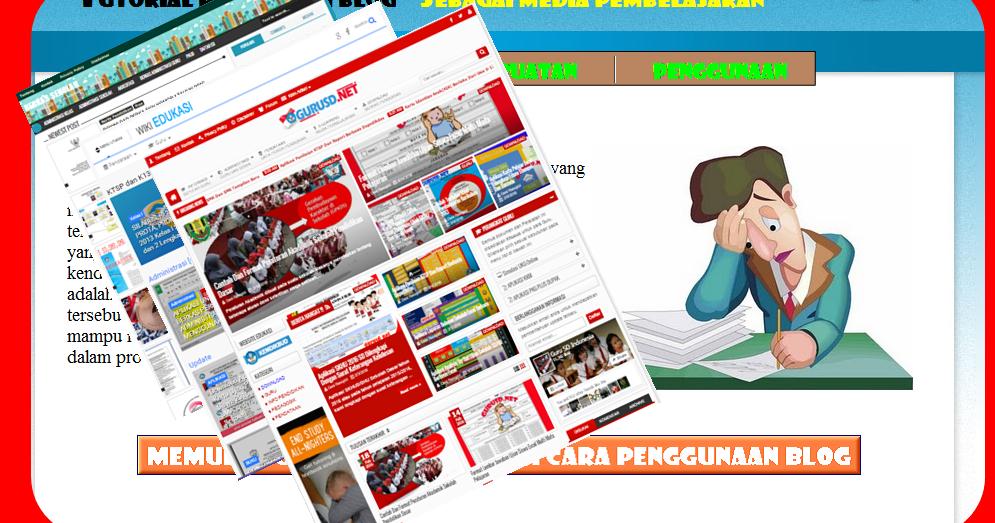 Aplikasi Tutorial Cara Membuat Blog Guru Untuk Media Pembelajaran Kurikulum 2013 Revisi