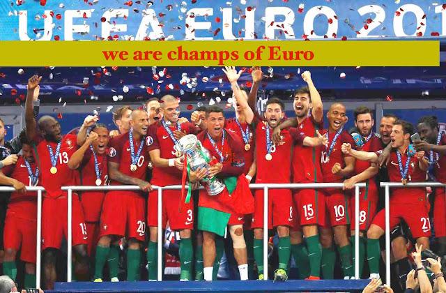 UEFA EURO Final 2016 Paris France
