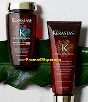 Logo Kérastase: richiedi gratis 2 campioni omaggio Aura Botanica Riche  e Soin Fondamental